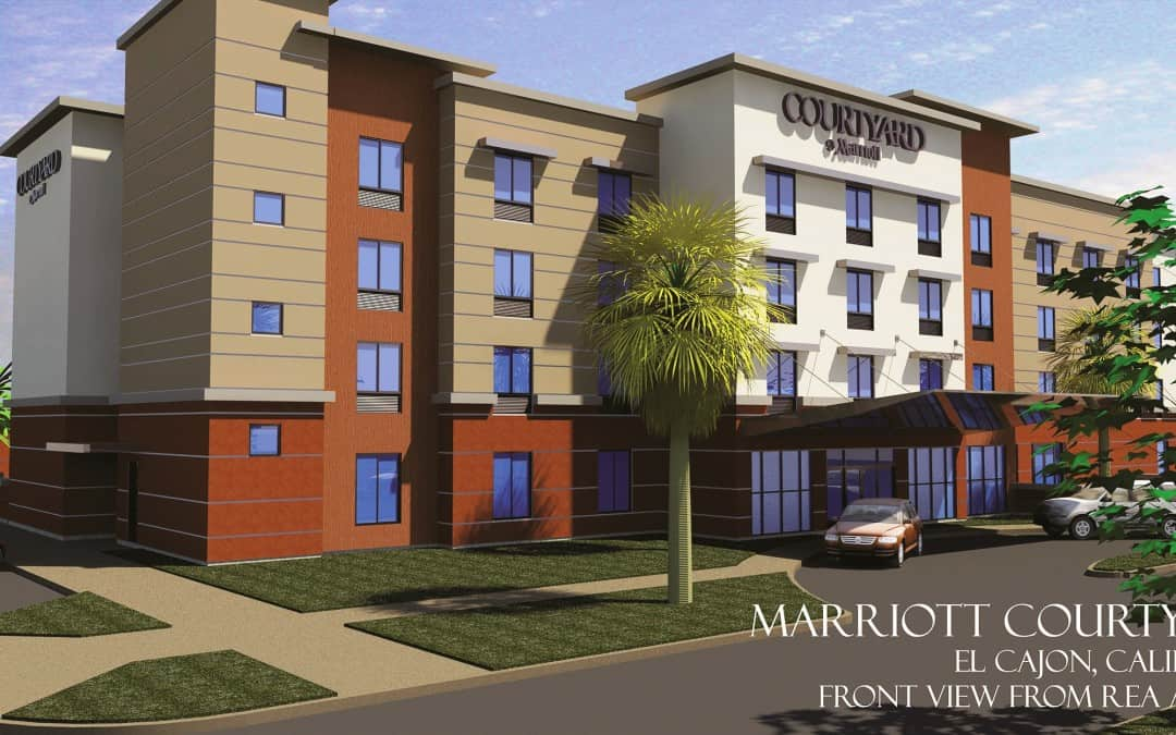 Groundbreaking Ceremony For The Courtyard By Marriott Hotel