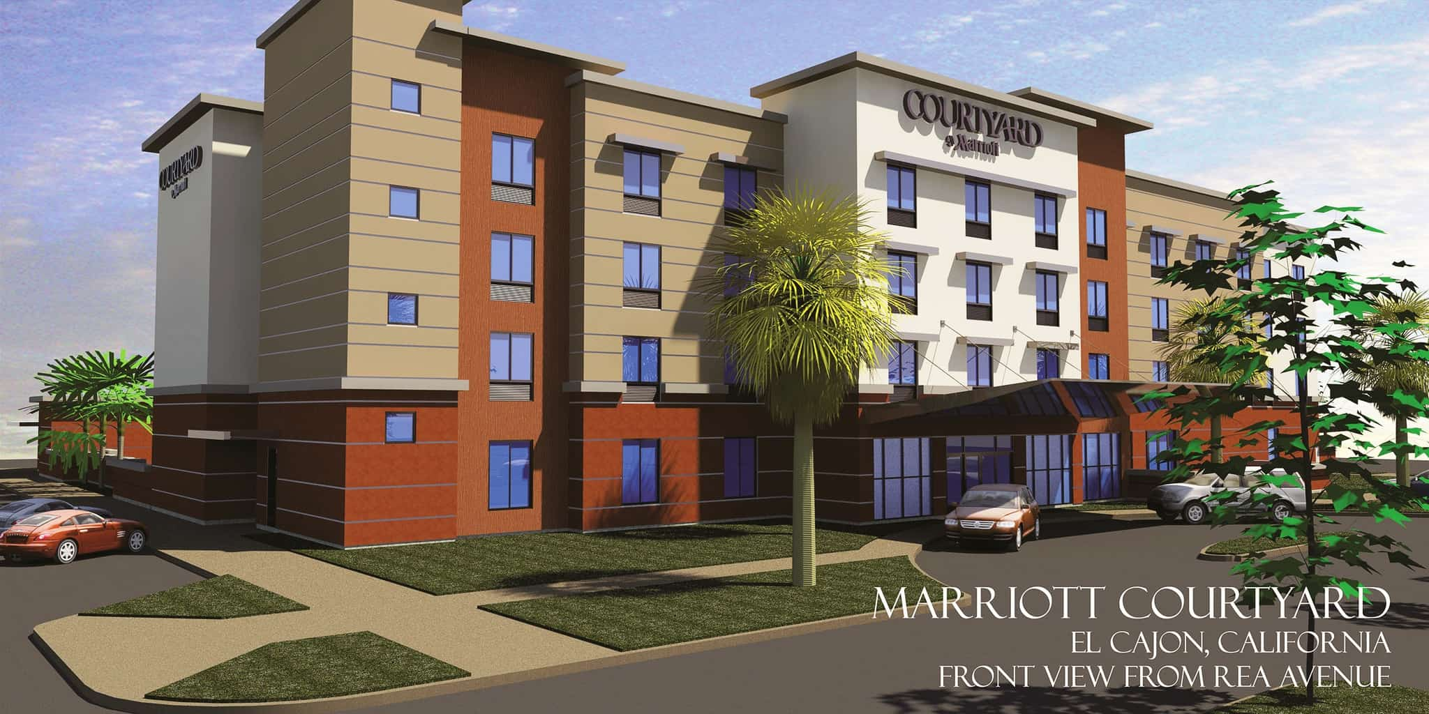 Groundbreaking Ceremony For The Courtyard By Marriott Hotel Downtown El Cajon
