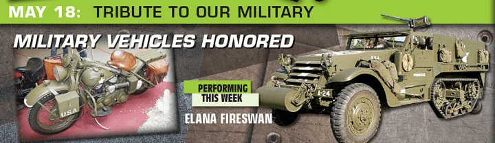 Military Vehicles Honored | Downtown El Cajon