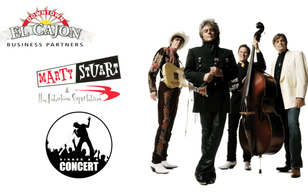 Marty Stuart Downtown El Cajon October 7, 2016