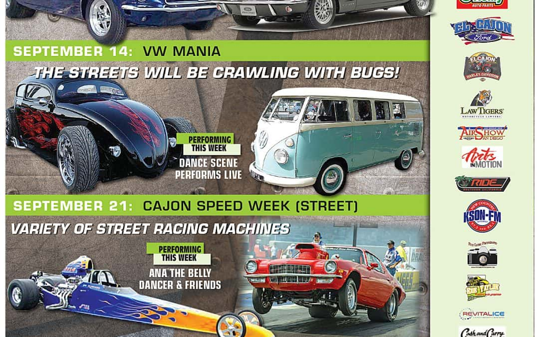 Car show schedule for September is out now!