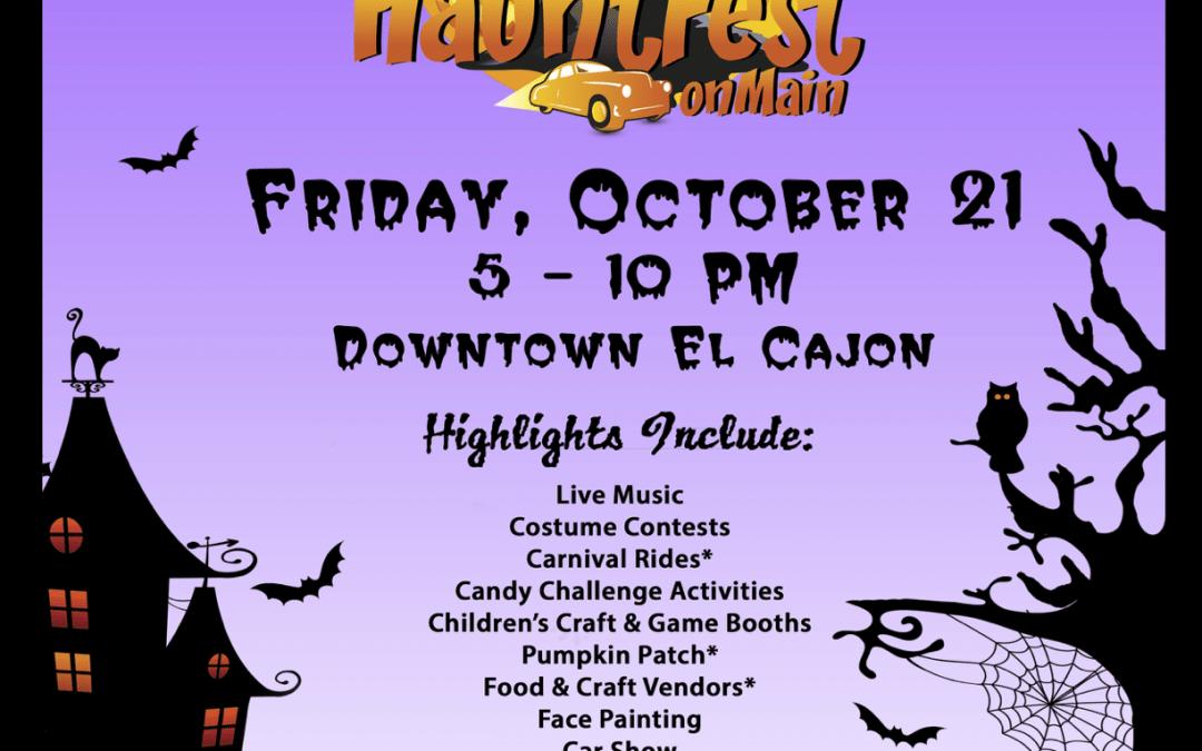 HauntFest in El Cajon