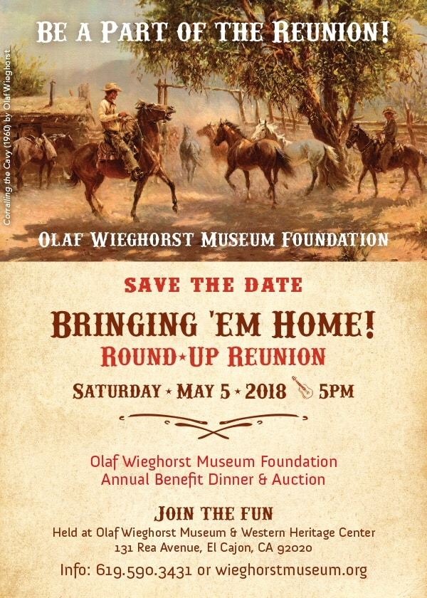 2018 Round-Up to be held at the Mueseum.
