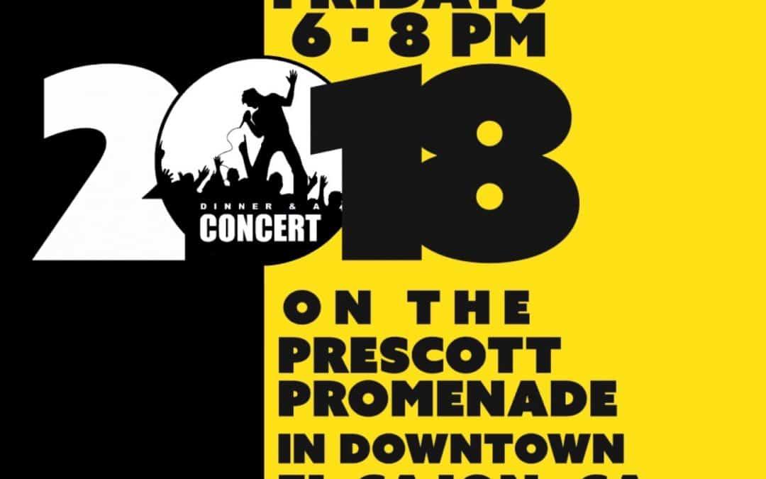 Dinner & A Concert 2018 Lineup