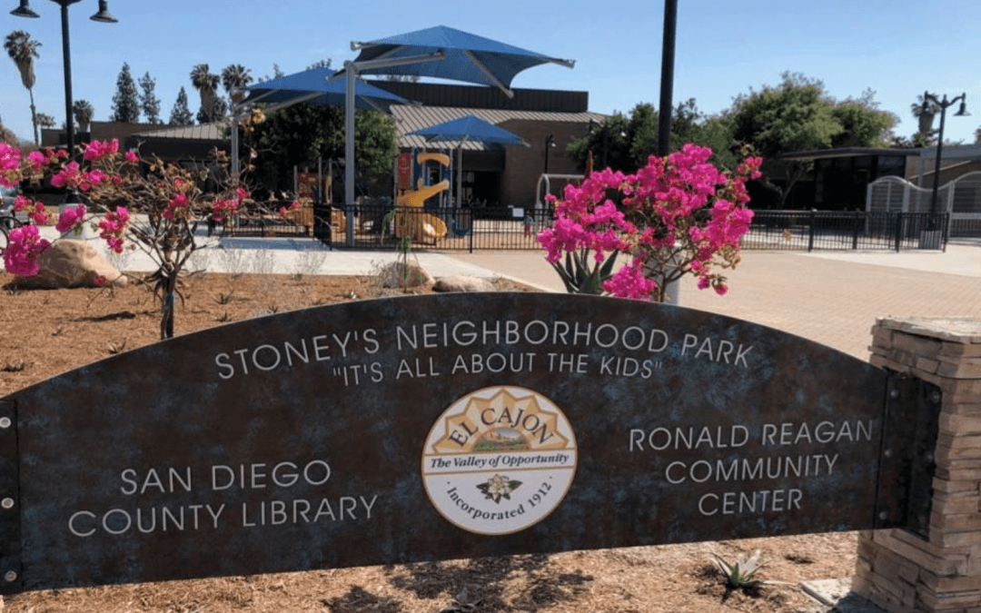 El Cajon has officially reopened the Stoney's Neighborhood Park