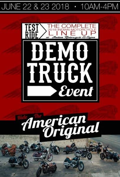 INDIAN DEMO TRUCK EVENT
