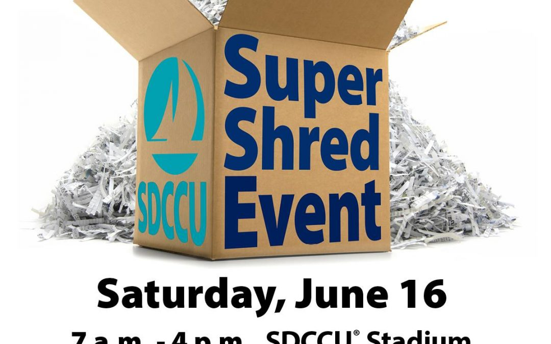 San Diego County Credit Union Super Shred Event