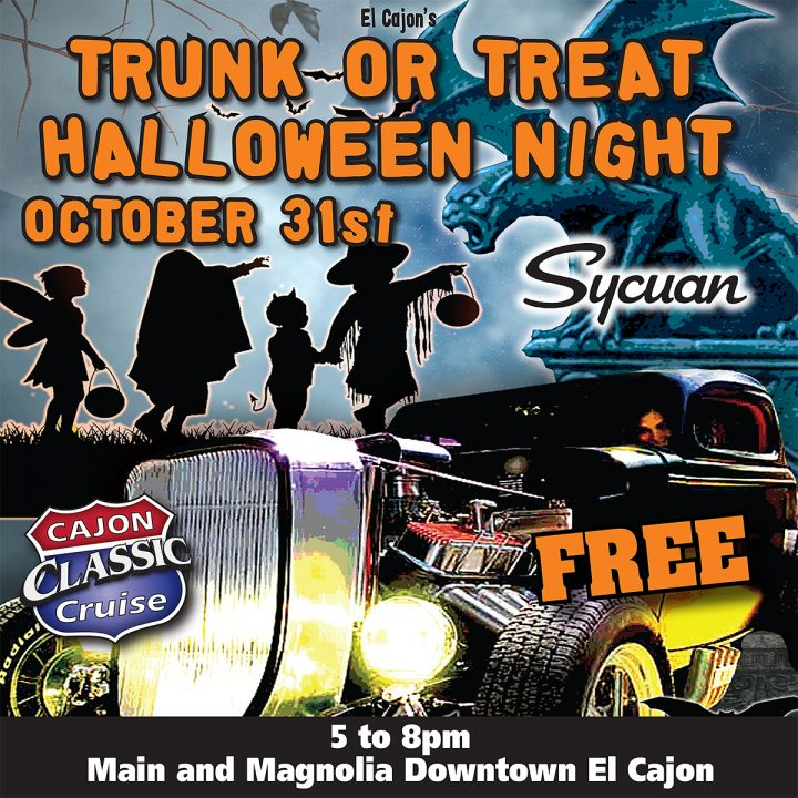 Trunk or Treat Halloween Event | Downtown El Cajon