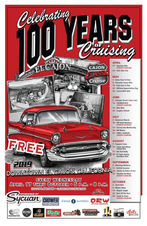 Cajon Classic Cruise Car Shows| Downtown El Cajon